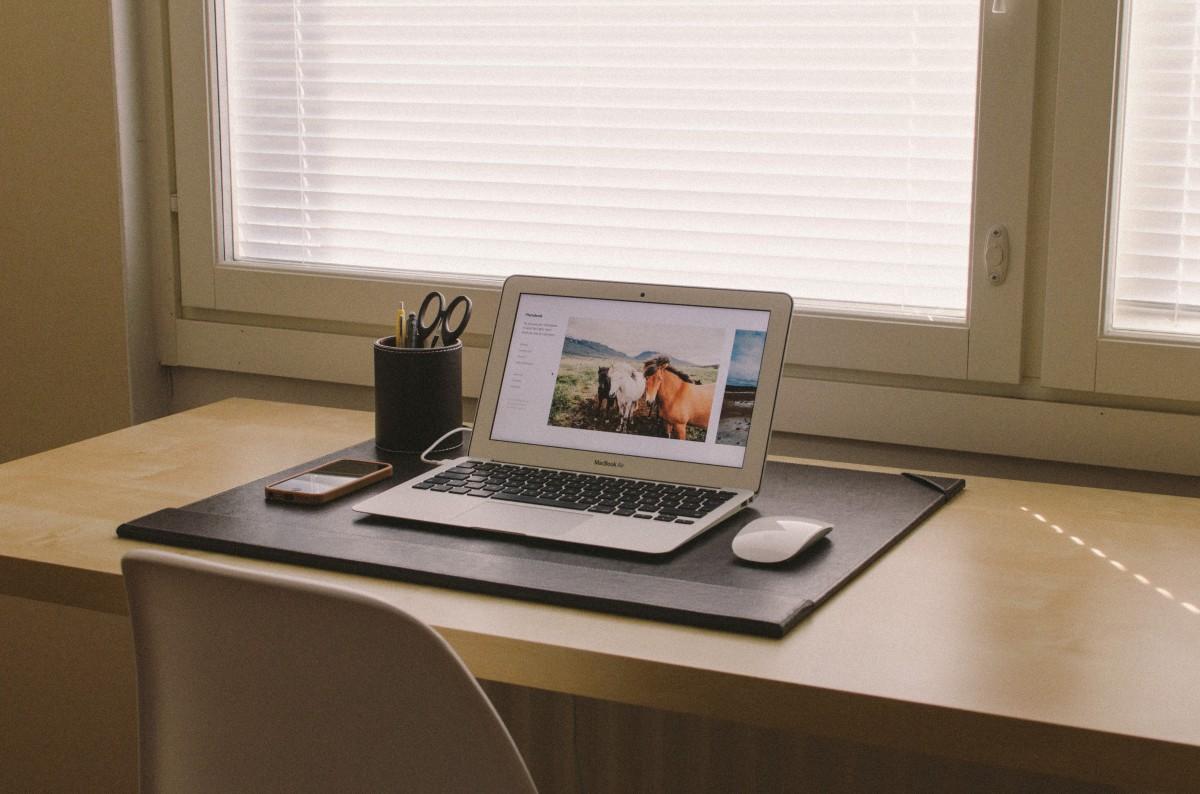 thuis werkplek inrichten