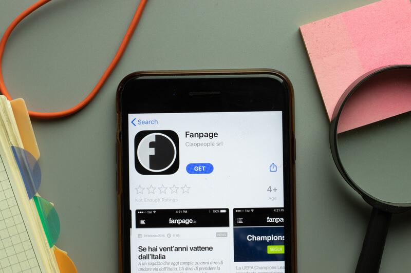 fanpage app